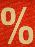 Disconto vermelho Foto de Stock