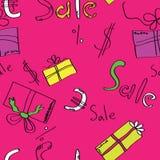 Discontos. Empacotamento para compras. Imagem de Stock