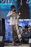 Discorso dall'orchestra piega celtica russa del reelroad dell'insieme Fotografia Stock
