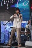 Discorso dall'orchestra piega celtica russa del reelroad dell'insieme Fotografie Stock