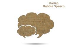 Discorso della bolla Fotografia Stock