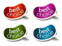 Discorso della bolla dei fagioli con il migliore motivo Choice Fotografie Stock Libere da Diritti