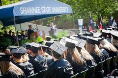 Discorso di graduazione Fotografie Stock Libere da Diritti
