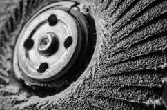 Discos abrasivos para el metal y el pulido de piedra, cortando Imagen de archivo libre de regalías