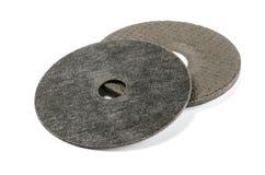 Discos abrasivos para o metal Fotografia de Stock Royalty Free