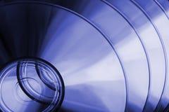 Discos azuis Fotos de Stock