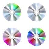 Discos CD Imágenes de archivo libres de regalías