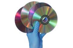 Discos con peligroso Fotos de archivo libres de regalías
