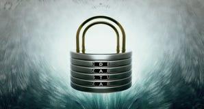 Discos da segurança de dados Foto de Stock Royalty Free