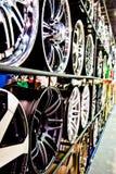 Discos de aço da liga Fotografia de Stock