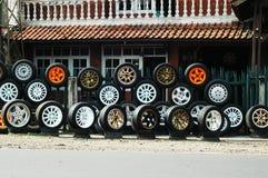 Discos de aço do carro da liga Foto de Stock