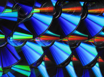 Discos de ?D/DVD Imagem de Stock Royalty Free