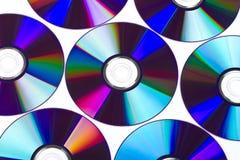 Discos de DVD Foto de archivo