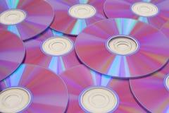 Discos de DVD Imagen de archivo libre de regalías