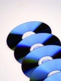 Discos de DVD Foto de archivo libre de regalías