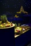 Discos de la fruta de la Navidad foto de archivo libre de regalías