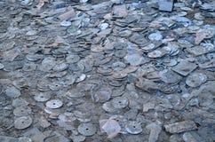 Discos de los desperdicios Imagenes de archivo