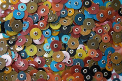 Discos de moedura Imagens de Stock
