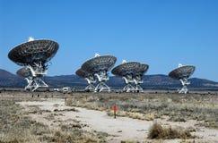 Discos de rádio do CONTATO no deserto de New mexico Imagens de Stock Royalty Free