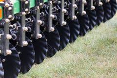 Discos de um cultivador Fotografia de Stock Royalty Free