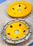 Discos del diamante para el corte concreto y la abrasión. Aún-vida Imágenes de archivo libres de regalías