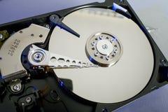 Discos del disco duro Abra el disco duro del hdd Recuperación de los datos de medios dañados Imagenes de archivo