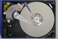 Discos del disco duro Abra el disco duro del hdd Recuperación de los datos de medios dañados Foto de archivo libre de regalías