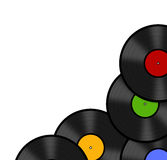Discos del vinilo Fotografía de archivo