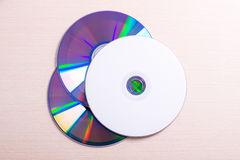 Discos do CD DVD Foto de Stock Royalty Free