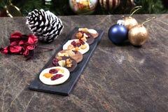 Discos do chocolate Fotografia de Stock Royalty Free
