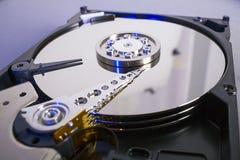 Discos do disco rígido Abra o disco rígido do hdd Recuperação dos dados dos meios danificados Imagens de Stock Royalty Free