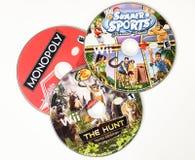Discos do jogo de vídeo Imagem de Stock Royalty Free