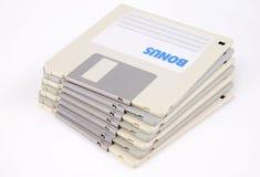 Discos dos dados do computador pequeno fotos de stock royalty free