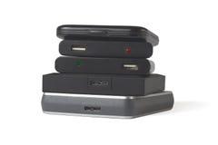 Discos duros del ordenador Fotos de archivo