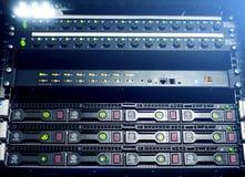 Discos duros SATA del servidor Fotografía de archivo