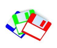 Discos flexíveis Imagens de Stock Royalty Free