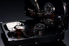 Discos rígidos do computador foto de stock royalty free