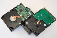Discos rígidos para o computador pessoal Foto de Stock