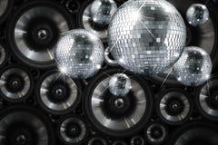 Discospiegelball Stockfotografie