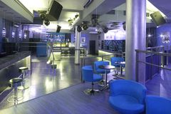 discoteca della barra Fotografia Stock