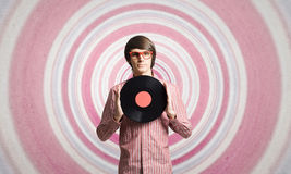 Discoteca DJ Fotografia Stock Libera da Diritti