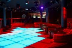 Discoteque bar. And mega lights Royalty Free Stock Photo