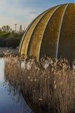 Discoteque velho abandonado Itália da estrutura, Cervia Imagens de Stock Royalty Free