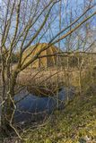 Discoteque velho abandonado Itália da estrutura, Cervia Fotografia de Stock Royalty Free