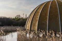 Discoteque velho abandonado Itália da estrutura, Cervia Imagens de Stock