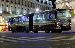 Discothèque d'autobus photo libre de droits