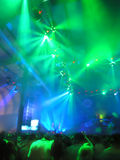 Discotheque. Night club, discotheque, lights, sounds royalty free stock image
