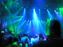 Discotheque. Night Club, colors, lights, sounds royalty free stock photos