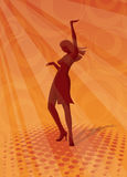 Discotheque background royalty free illustration
