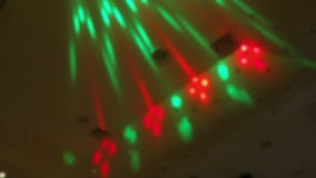 Discotheque Light Show stock footage